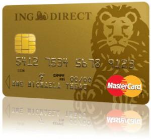 carte ING Direct