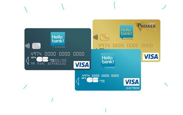 cartes Hello bank