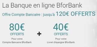 BforBank renouvelle son offre avec 120€ offerts !