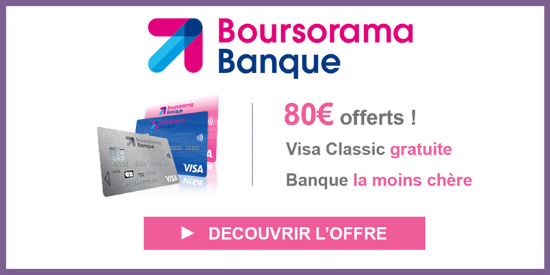 pop-up boursorama