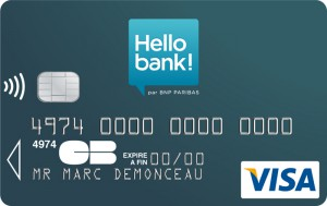 carte hello bank