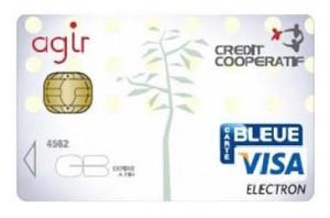 Carte bancaire caritative Agir