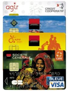 Carte bancaire caritative