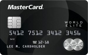 Carte MasterCard World Elite