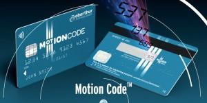 carte bancaire Motion Code