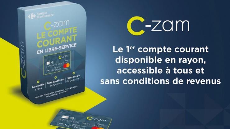 C Zam Le Compte Courant En Ligne De Carrefour Banque