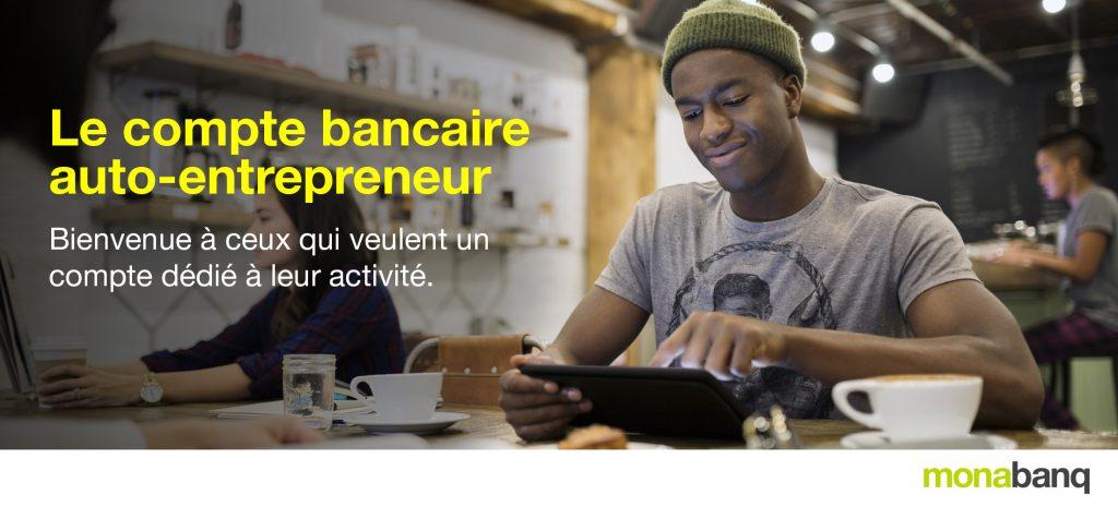 compte auto entrepreneur monabanq