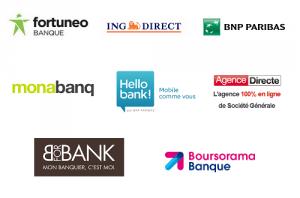 Liste des banques en ligne