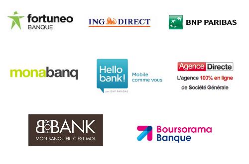 liste des banques en ligne et banques mobiles quelles sont elles. Black Bedroom Furniture Sets. Home Design Ideas
