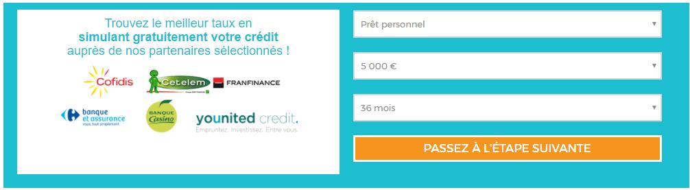 comparateur crédit