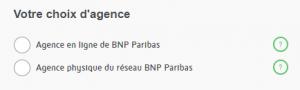 ouvrir un compte BNP Paribas