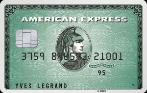 carte green american express