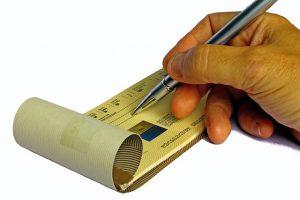 chèque sans provision