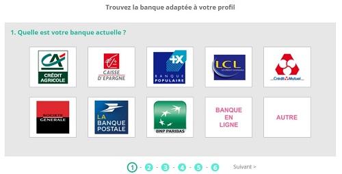 simulateur de banques en ligne