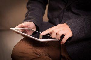 Compte professionnel en ligne