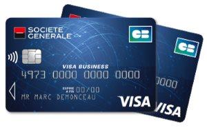 Carte Visa Business