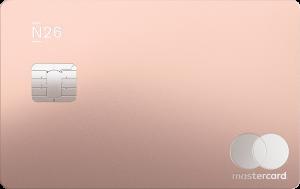 carte n26 métal rose
